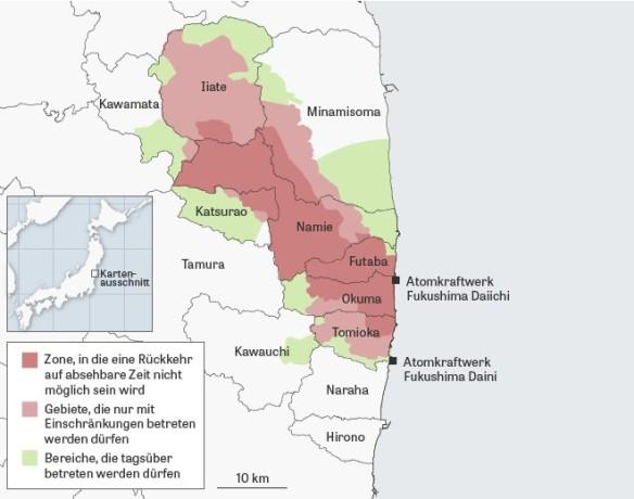 Evakuierungszone 2015